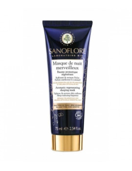 Masque de nuit merveilleux 75ml Sanoflore - cosmétique bio