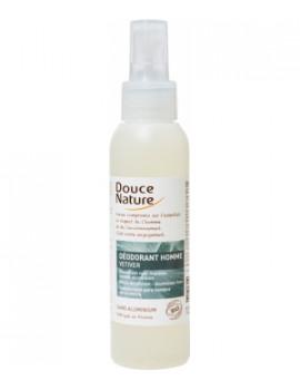 Spray Déodorant Homme au Vétiver Bio 125 ml Douce Nature - soin pour le corps