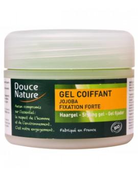 Gel coiffant fixation forte huile de Jojoba 100 ml Douce Nature