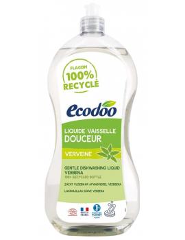 Liquide vaisselle mains anti bactérien Aloe Vera Pamplemousse 1L Ecodoo - produit d'entretien ménager