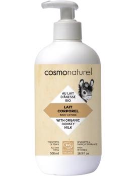 Lait corporel au lait d'ânesse et HE 500 ml Cosmo Naturel - soin pour le corps bio