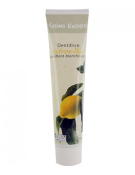 Dentifrice Citron blanchissant 75 ml Cosmo Naturel