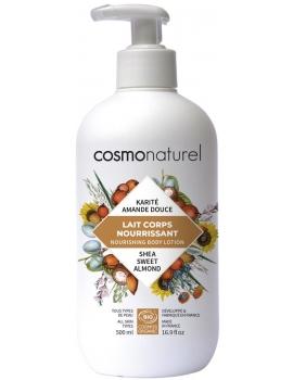 Cosmo Naturel Lait corporel bio beurre de karité hydratant 500 ml - lait corporel bio