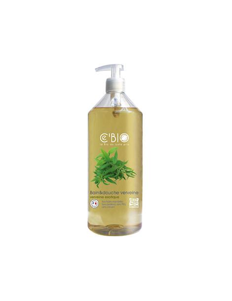 Bain et douche Verveine exotique 1L Cbio - produit d'hygiène pour le corps