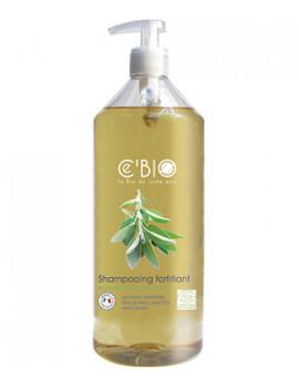 shampooing fortifiant Quinquina Sauge Citron 1 Litre Cbio - soin bio pour les cheveux