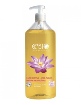 Gel Intime Fleur d'Oranger Calendula 500 ml Cbio -produit d'hygiène féminine bio