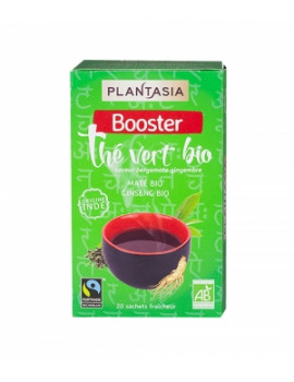 Thé vert Booster 20 sachets Plantasia