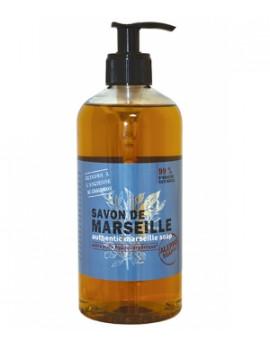 Savon de Marseille liquide 500ml Tadé - savon authentique de marseille hypoallergénique