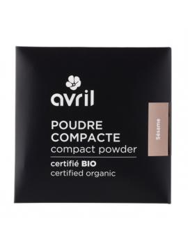 Avril Beauté Poudre compacte Nude (Naturel) 7 grammes - maquillage bio pour le teint