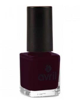 Vernis à ongles Prune n°82 7ml Avril Beauté - maquillage vegan pour les ongles