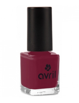 Avril Beaute Vernis à ongles Bourgogne n°26 7 ml Bio - maquillage bio pour les ongles