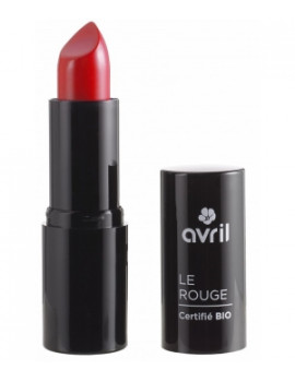 Rouge à lèvres Coquelicot n°597  4 ml Avril Beauté - produit de maquillage biologique
