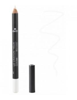 Crayon contour des yeux Blanc lunaire 1 gr Avril Beauté - produit de maquillage biologique