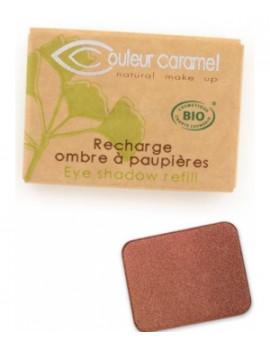 Recharge Ombre à paupières n°160 Pesca  1.3 gr Couleur Caramel - produit de maquillage biologique