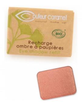 Recharge Ombre à paupières n°163 Siena 1.3 gr Couleur Caramel - produit de maquillage biologique