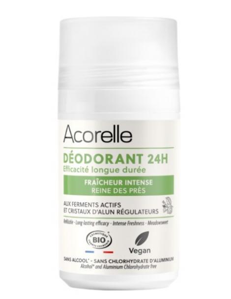 Déodorant soin longue durée Cristaux dAlun 50 ml Acorelle - soin pour le corps
