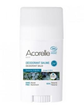Déodorant Baume Genévrier Menthe  40g Acorelle  - produit d'hygiène biologique