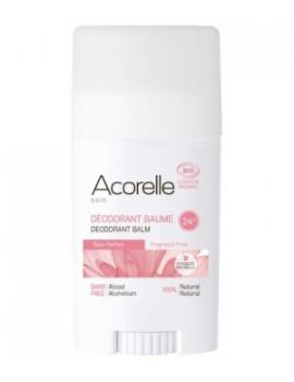 Déodorant Baume sans parfum 40g Acorelle  - produit d'hygiène biologique