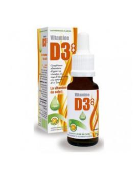 Vitamine D3++ huile 20 ml D-plantes - complément alimentaire