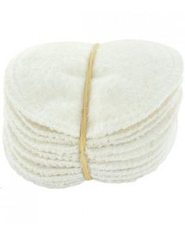Lot 12 lingettes à démaquiller en chanvre et coton biologique 12 unités Lulu Nature - produit d'hygiène pour le visage