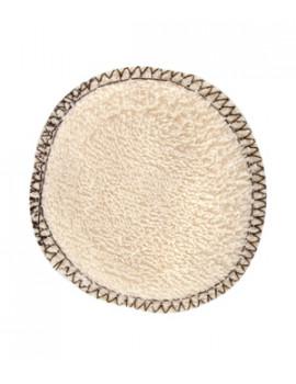 Lot 12 disques à démaquiller en coton biologique 12 unités Lulu Nature - produit de démaquillage pour le visage