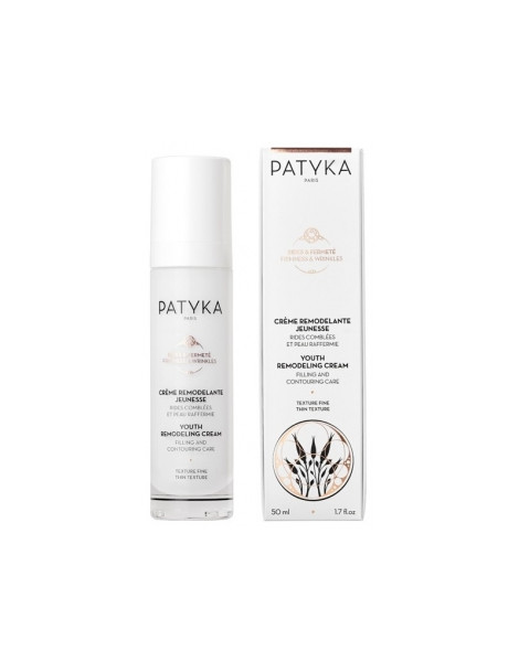 Crème remodelante jeunesse Texture fine  50ml Patyka - cosmétique bio - crème anti-âge bio