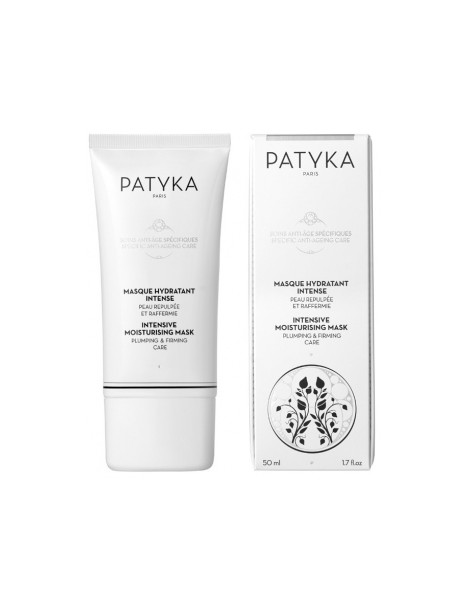 Masque hydratant intense 50 ml Patyka - cosmétique bio soin de jour hydratant bio