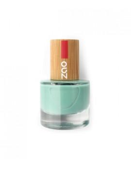 Vernis à ongles 660 Vert d'eau 8 ml Zao - produit de maquillage biologique