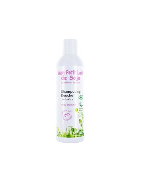 Gel douche corps et cheveux Peau sensible Sapin blanc 250 ml Mon Petit Lait de  Soja - produit d'hygiène biologique