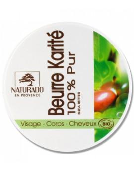 Beurre de Karité 150 ml Naturado - soin bio pour le corps et les cheveux