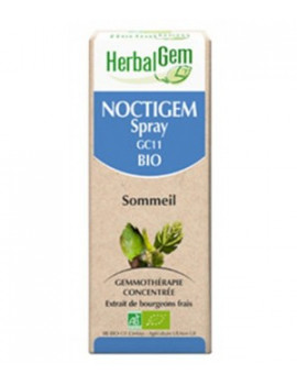 Noctigem Bio Spray Bio Sommeil 10ml Gemmobase Herbalgem