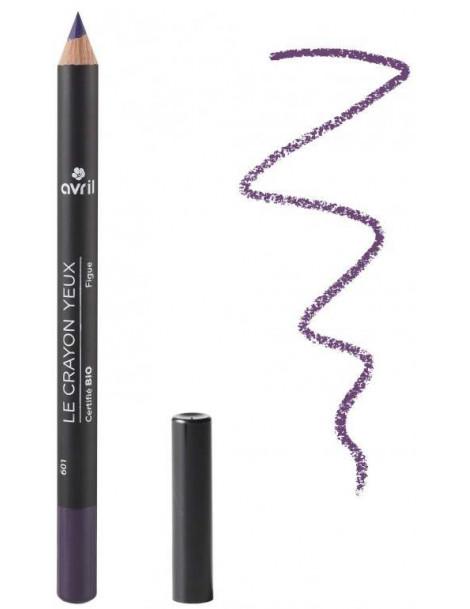 Crayon contour des yeux Figue  1g Avril Beauté - produit de maquillage biologique