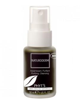 Stimulant épidermique antiseptique Naturoderm Pulvérisateur 30ml Phyt's - produit de soin de l'épiderme