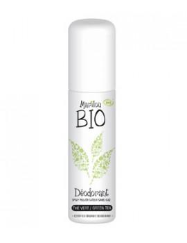 Déodorant spray bio Thé vert 75 ml Marilou Bio