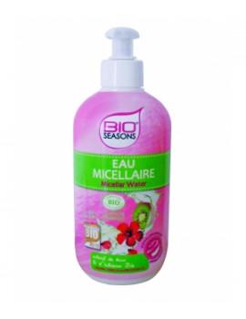 Eau Micellaire Hypoallergénique 500 ml Bio Seasons - cosmétique bio abcbeauté