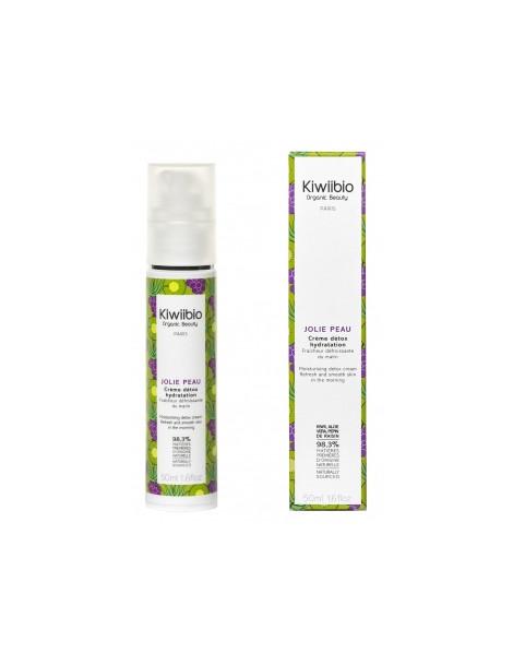 Jolie peau Crème détox hydratation 50ml Kiwii Bio - creme pureté detox bio abcbeauté