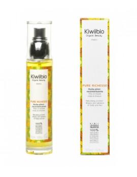 Pure richesse Huile élixir reconstituante 50ml Kiwii Bio - complexe huiles végétales abcbeauté