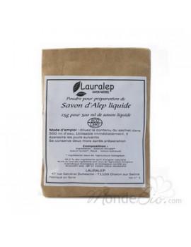 Préparation pour savon liquide d'Alep pour sachet de 500ml  25 gr Lauralep