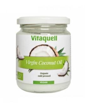 Huile de coco vierge Plaisir culinaire et soin corporel parfum noix de coco  200g Vitaquell