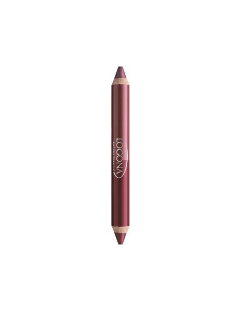 Rouge à lèvres duo crayon n°3 Berry 2.98 gr Logona - rouge à lèvres vegan abcbeauté
