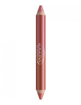 Rouge à lèvres duo crayon n°7 Cherry 2.98g Logona - produit de maquillage biologique