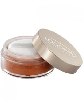 Poudre libre n°2 Bronze 7g Logona - produit de maquillage bio abcbeauté