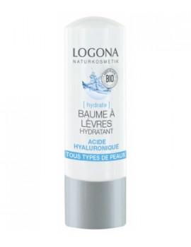Baume à lèvres hydratant acide hyaluronique 4,5 gr Logona