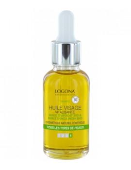 Huile vitalisante visage à l'avocat bio 30 ml Logona - cosmétique bio abcbeauté