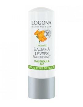 Baume à lèvres nourrissant Calendula bio 4,5 g Logona