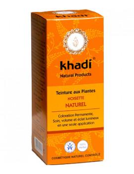 Teinture aux Plantes Noisette Naturel 100 g Khadi - soin des cheveux abcbeauté