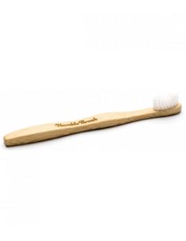 Brosse à dents enfants blanche 160 gr Humble Brush - accessoire d'hygiène bucco-dentaire abcbeauté