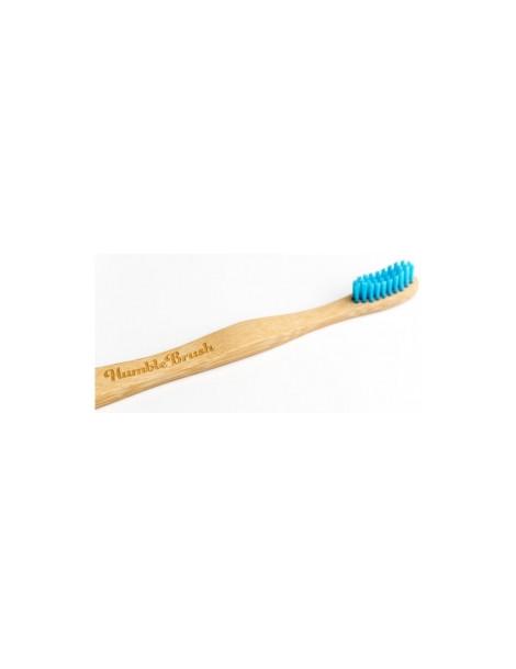 Brosse à dents enfants bleue 160g Humble Brush - accessoire d'hygiène bucco-dentaire