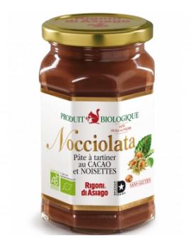 Nocciolata Pâte à tartiner Bio 700 gr Rigoni di Asiago - produit alimentaire santé abcbeauté