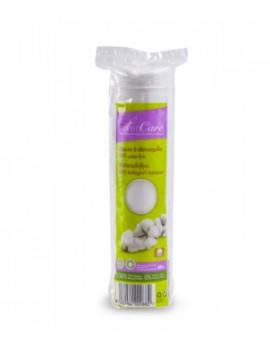Disques à démaquiller 100% coton bio  80 unités Silvercare
